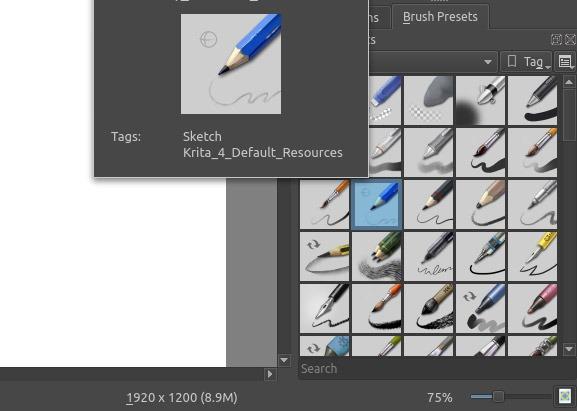 Sketch Like A Pro In Krita Pencil Brush
