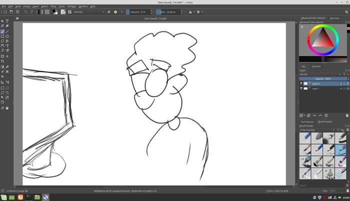 Sketch Like A Pro In Krita Start Sketching