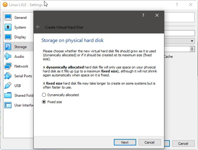 Virtualbox Hdd Upgrade A Matter Of Size