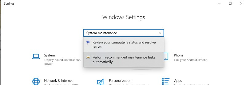 Windows Unresponsive System Maintenance