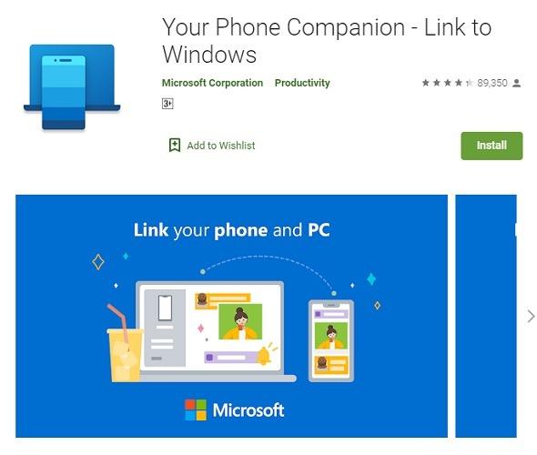 Your Phone Companion App