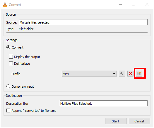 Convert Audio Files Using Vlc Custom Convert