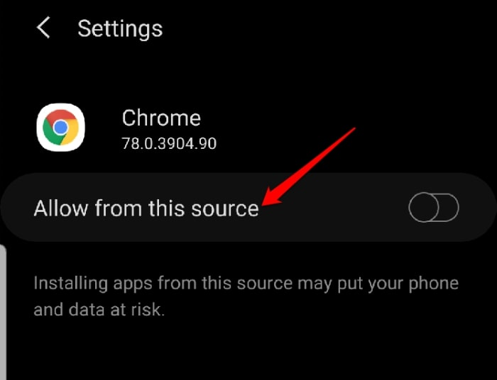 Download Install Google Play Allow From This Source