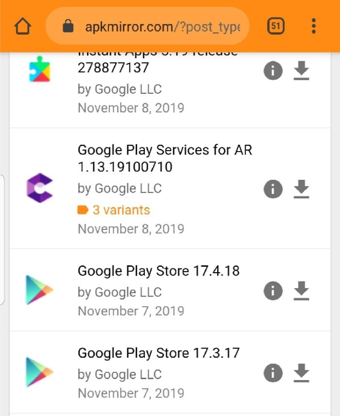 Download Install Google Play Apkmirror