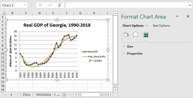 Excel Trendlines Polynomial