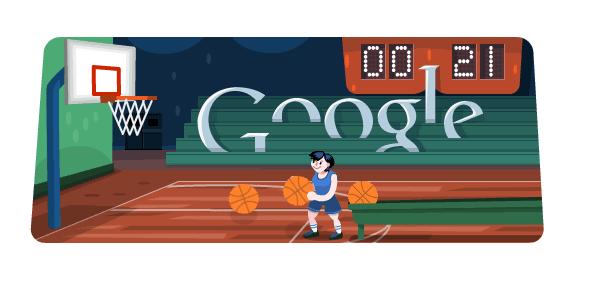 Hidden Google Games basketball