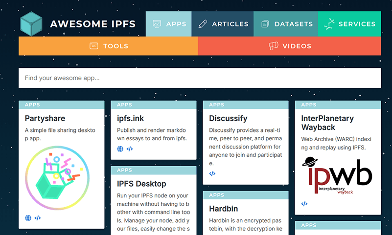 Ipfs Apps