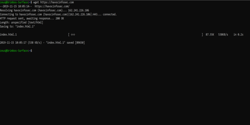 Linux Wget Url Feature