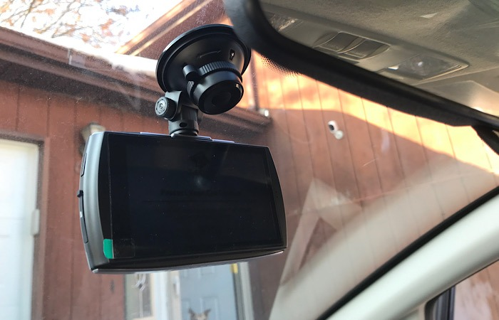 Review T4 Dash Cam Camera Windshield