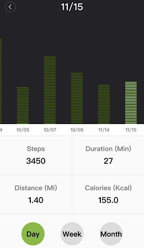 Review Walkingpad Stats