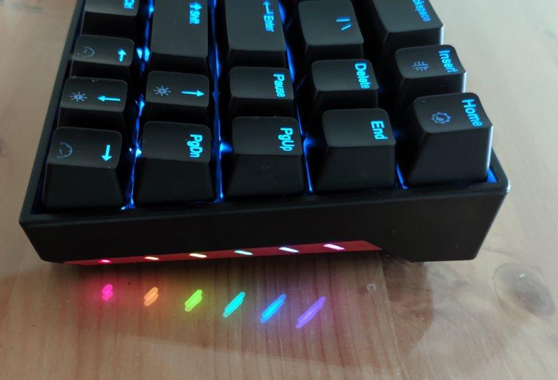 Tkl71ws Keyboard Side Rgb Lights
