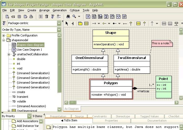Argouml Screenshot