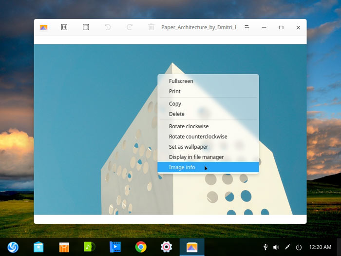 Deepin Review Image Viewer