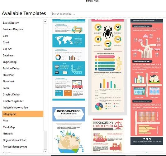 Infographics Edrawmax