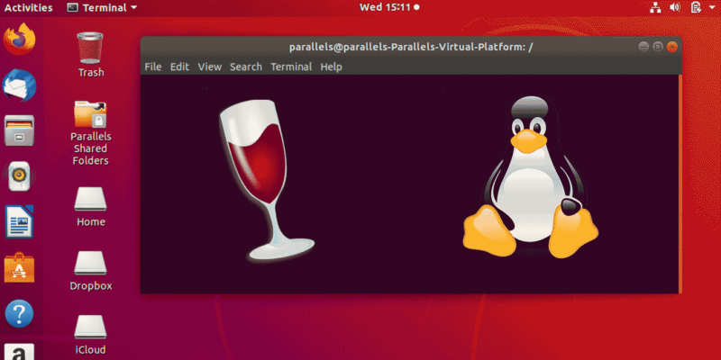 Linux Wine Featured