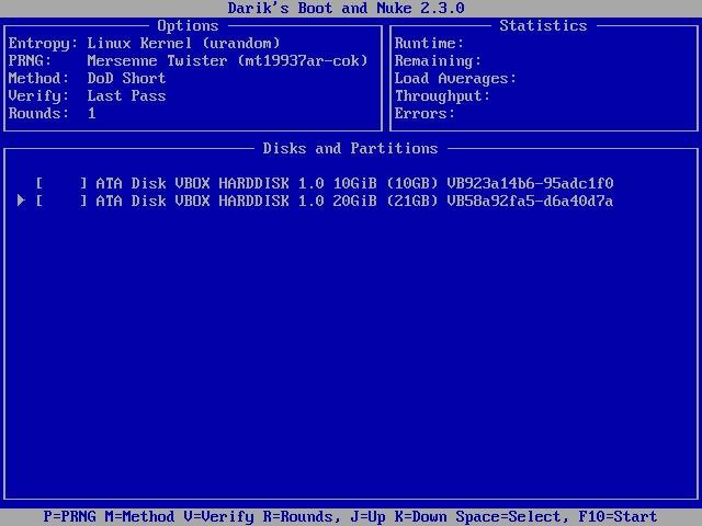 Linux Wipe Hdd Dban