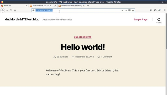 Linux Local Wp Test Wp