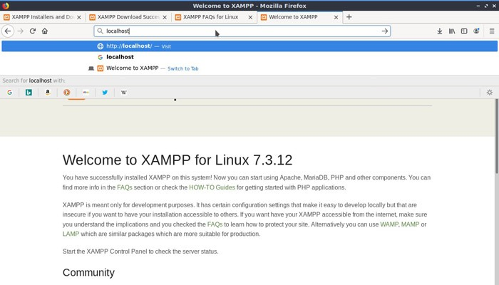 Linux Local Wp Test Apache