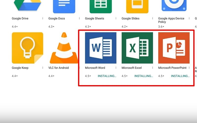 Microsoft Office For Chromebook 2