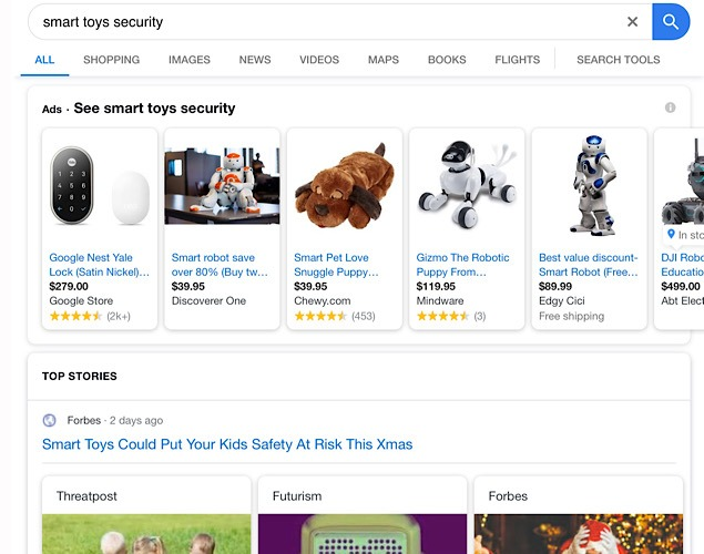 News Google Search Organization Carousel