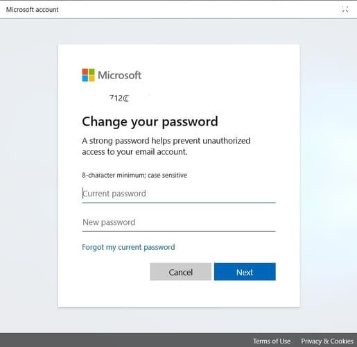 Unauthorized Users Change Password