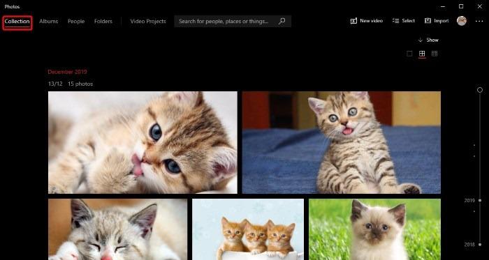 Windows Photos Collection