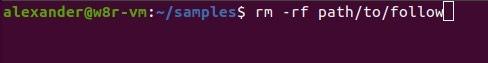 Bash Commands Linux Rm Hero