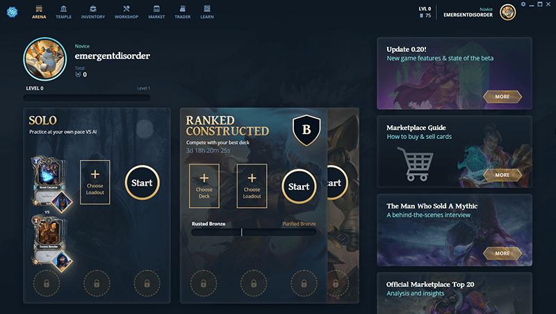 Blockchain Games Gods Unchained