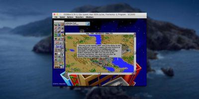 Dosbox Macos Simcity2000 Hero
