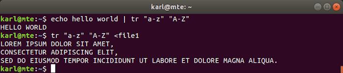 Linux Text Tools Tr