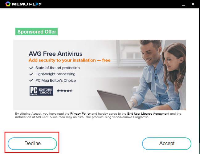 Memuplay Installer Sponsored Offer