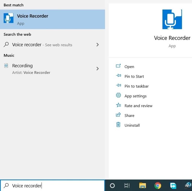 Windows Audio Recorder Program