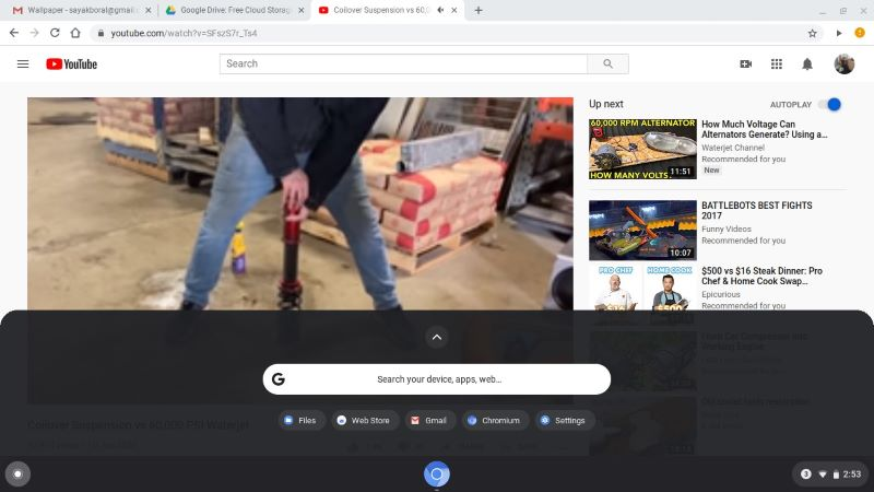Chromiumos With Chromx Multitabbed Browsing Experience