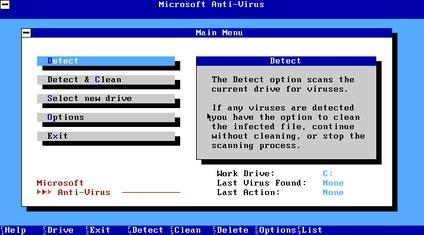 Does Linux Need Antivirus Microsoft Anti Virus (screenshot)