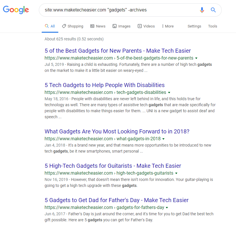 Google Search Operators Quotes Omit