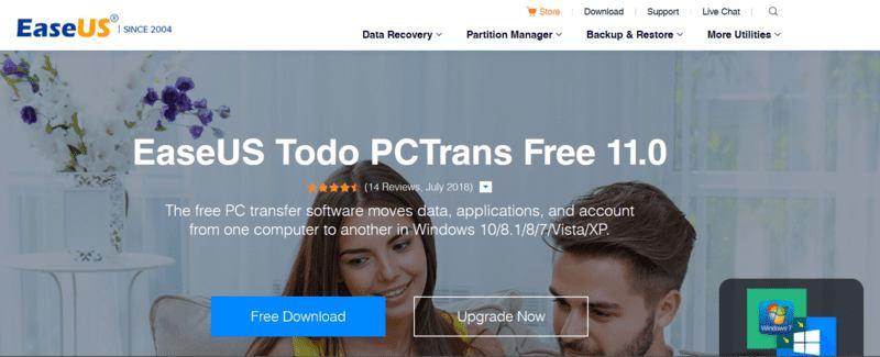 Moving Windows Programs Easeus Pctrans Web