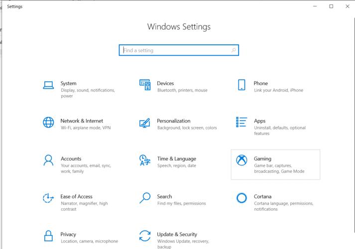 Moving Windows Programs Settings Window