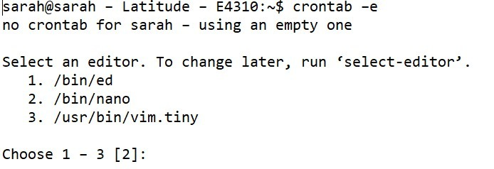 Schedule Tasks In Ubuntu 4
