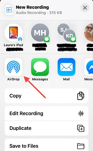 Voice Notes Iphone Airdrop
