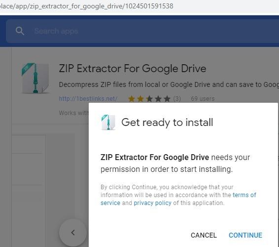 Zip Extractor For Google Drive G Suite