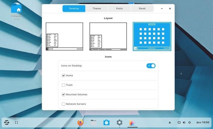Zorin Os 15 Review Desktop Layout