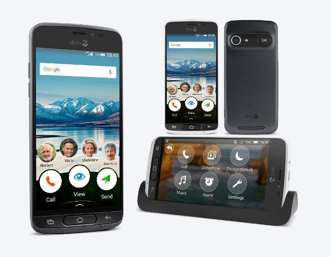 Best Smartphones For Senior Citizens Doro 8040 2