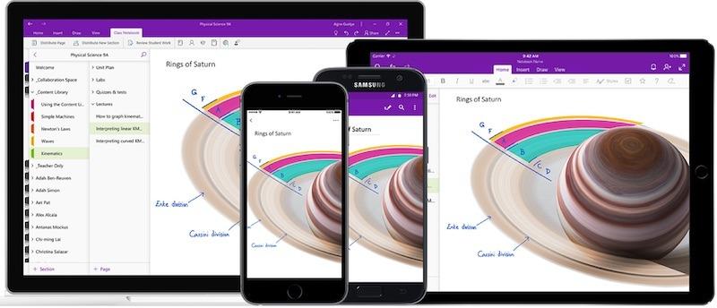Cross Platform Note Apps Onenote