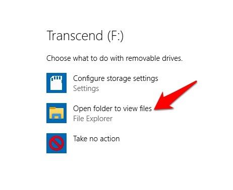 Encrypt Usb Drive Windows 10 Autoplay Open Folder View Files