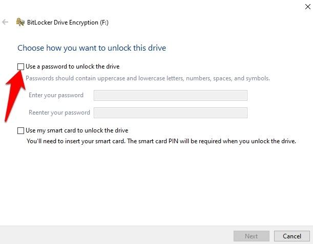 Encrypt Usb Drive Windows 10 Use Password Unlock Drive