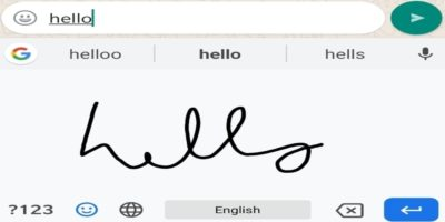 Gboard Handwriting