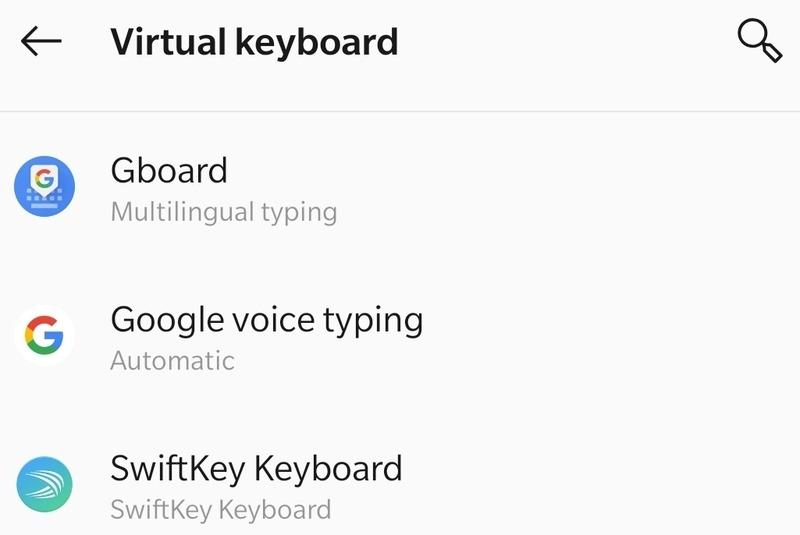 Gboard Morse Virtual Keyboard