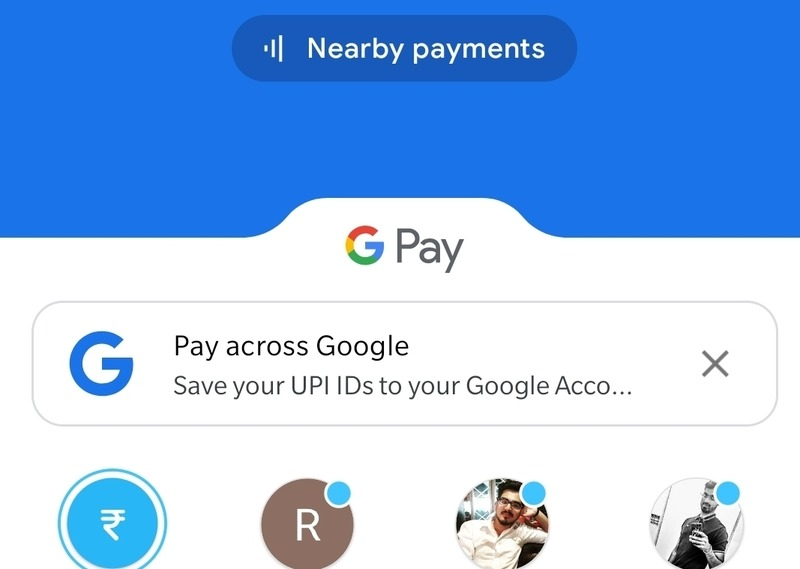 Google Pay Contacts