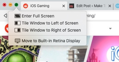 How To Snap Split Screen Macos Green Button