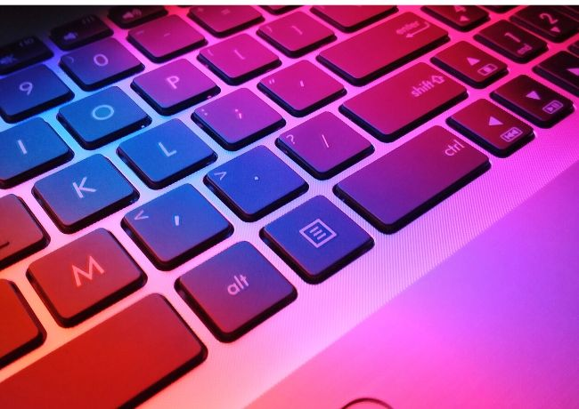 Improve Typing Speed Keyboard Colorful